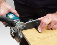 Формирование радиусной фаски при обработке углов методом обкатки.
