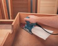 Использование дельтообразной подошвы для обработки труднодоступных мест.
