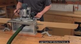 Шипо-гнездорезка Leigh FMT Pro в метрическом исполнении