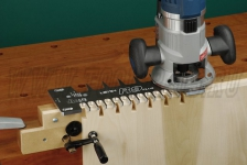 Шипорезное приспособление Leigh R9 Plus без ограничения длины соединения