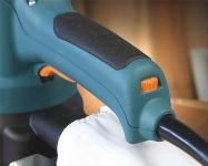 Наличие электронной регулировки позволяет подобрать оптимальные параметры шлифования для различных материалов