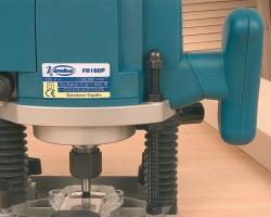 Тотальная система блокировки глубины фрезерования, идеально для работы с шипорезным приспособлением.
