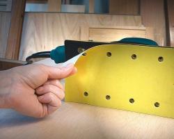 Использование самофиксирующихся (Velcro) абразивных материалов